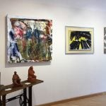 quadri e sculture in mostra